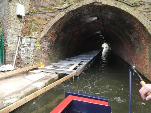 Edgbaston Tunnel towpath widening