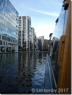 Hatch view, Paddington Basin