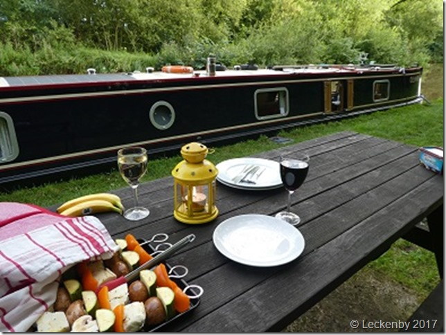 Barbeque on the Middlewich Branch