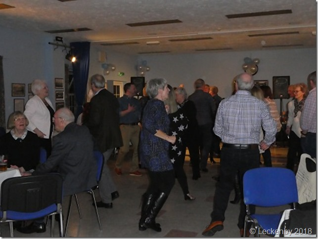 The dance floor stayed full for most of the evening