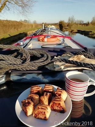 Cruising sausage rolls