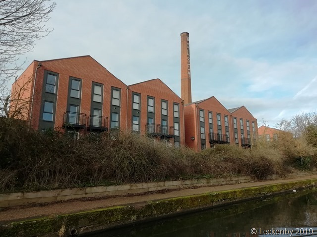 New houses reminiscent of brick factories