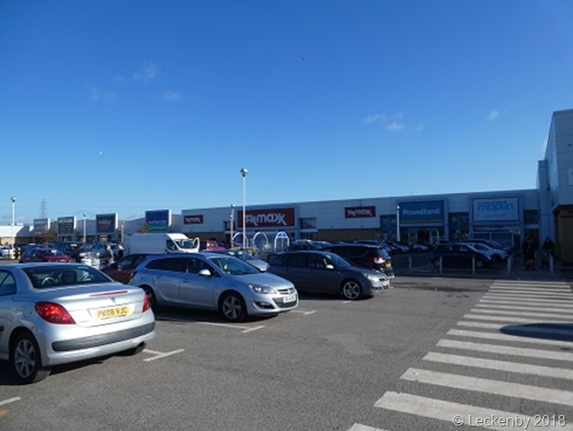 Sealand Road retail park