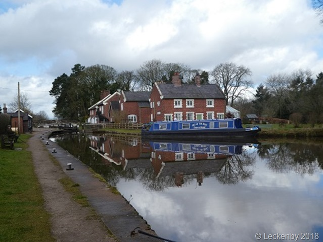 The top of Tyrely Locks