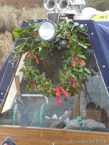 An organic wreath