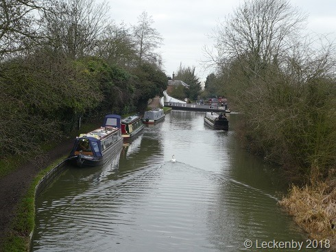 A busy Braunston today