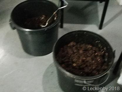 Buckets of poo