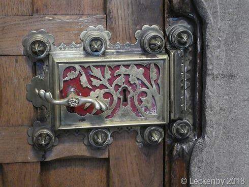 Such detail in a door lock